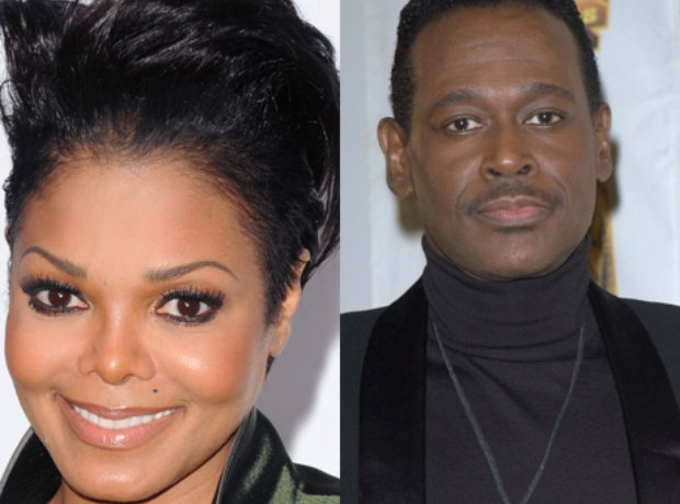 Luther Vandross and Janet Jackson.