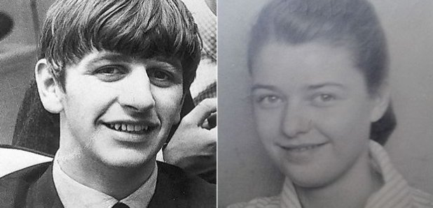 Ringo Starr and Doreen Speight