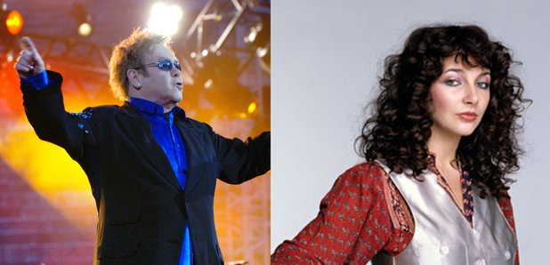 Elton John and Kate Bush