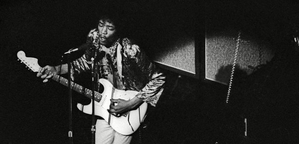 Jimi Hendrix By Photographer Miki Slingsby