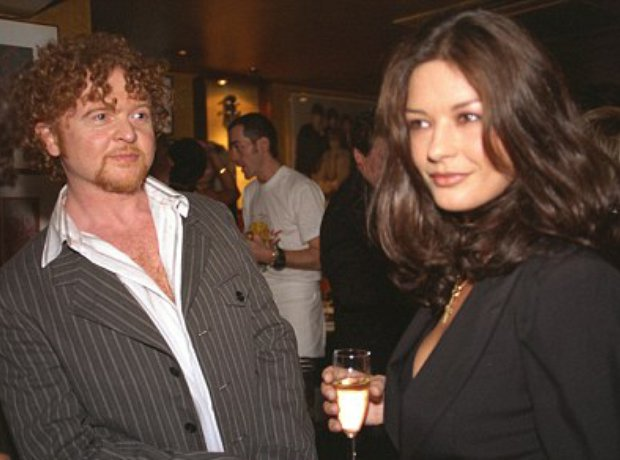 Mick Hucknall and Catherine Zeta-Jones