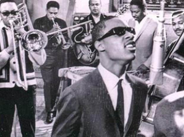 Stevie Wonder with the Funk Brothers