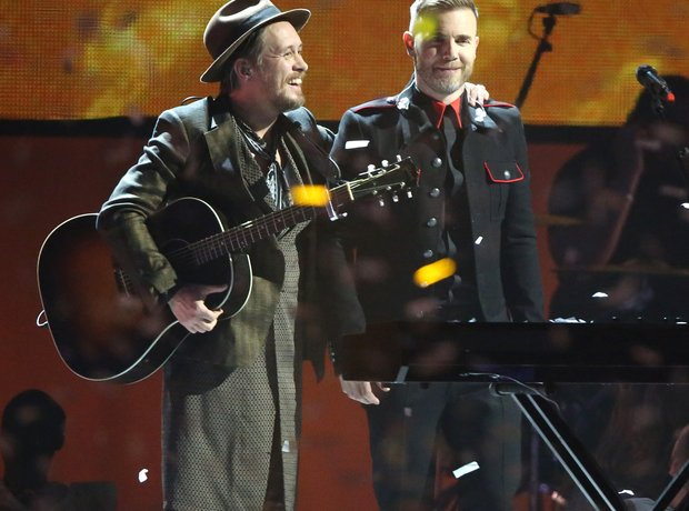 Take That BRIT Awards Performance 2015