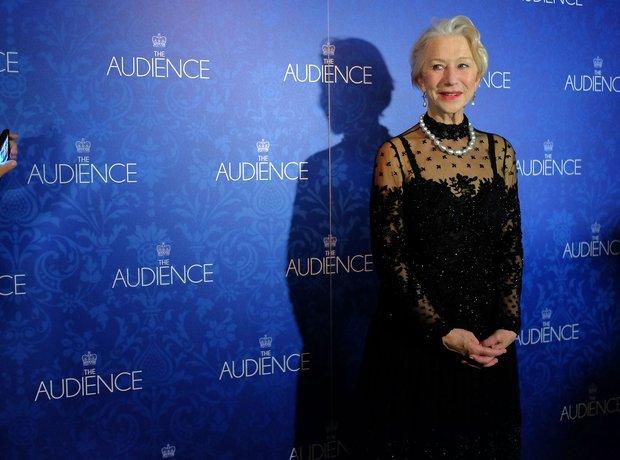 Helen Mirren at the 'Audience' premiere