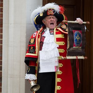 Town Crier Royal Baby