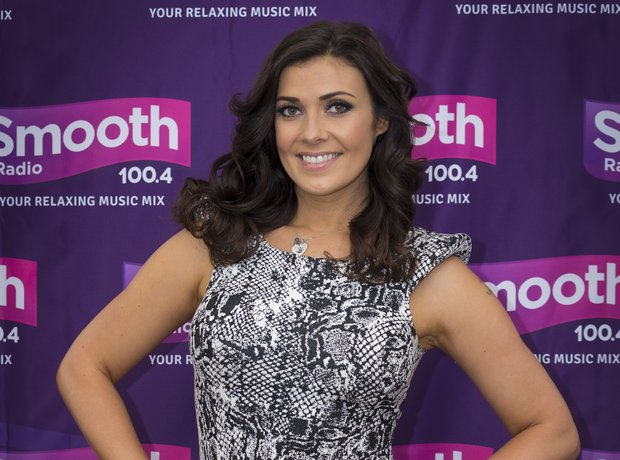 Kym Marsh at The International Mersey River Festiv