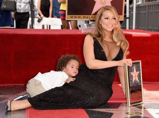 Mariah Carey Hollywood Star