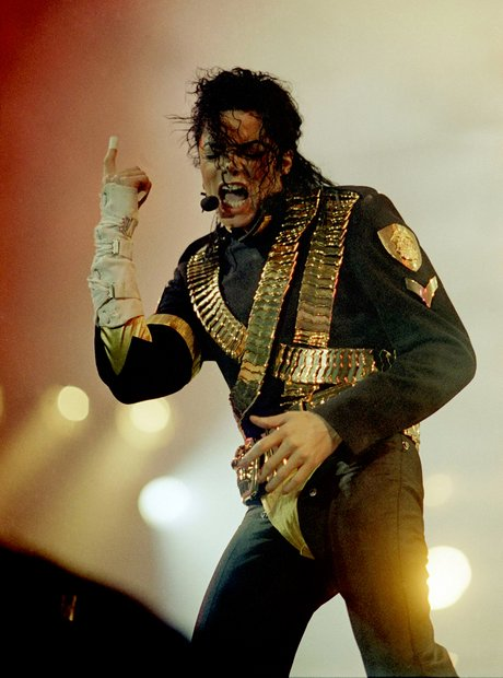 Michael Jackson on Dangerous tour 1993