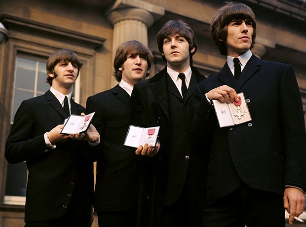 beatles mbe 1965