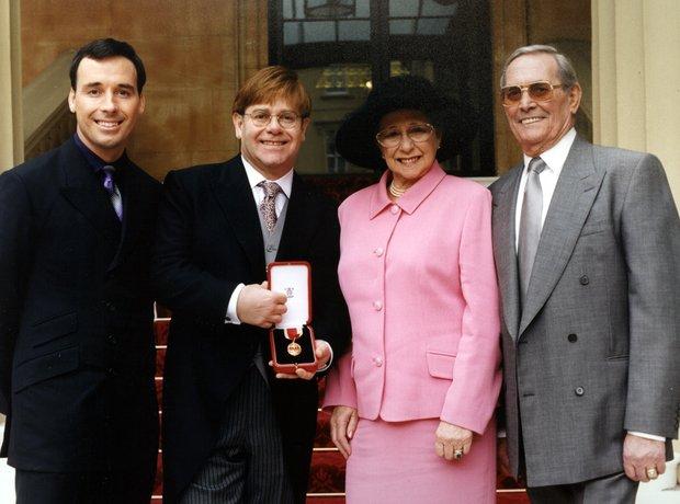elton john knighted