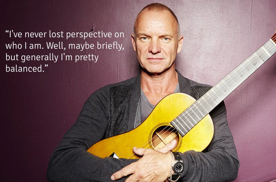 Sting's Bizarre Quotes