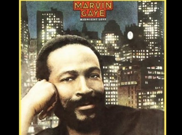 Marvin Gaye 80s album covers