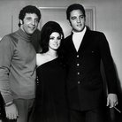 Tom Jones with Elvis Presley and Priscilla Presley