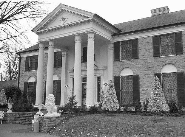 Elvis mansion, Graceland, Memphis