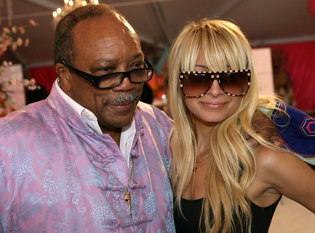 Quincy Jones And Nicole Richie