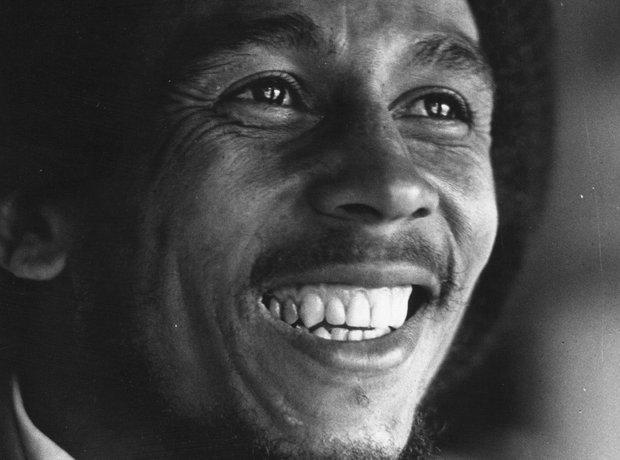 Bob Marley Smile