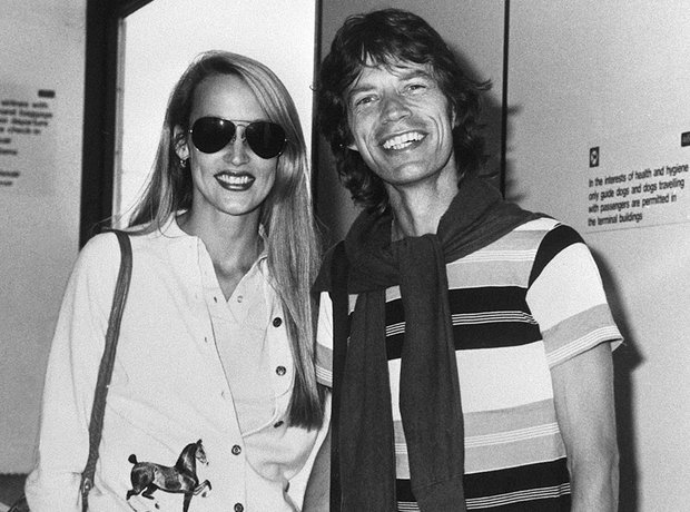 Coupes Gallery Jerry Hall and Mick Jagger