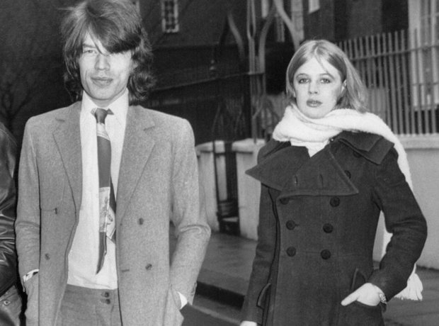 Couples Gallery Mick Jagger and Marianne Faithful