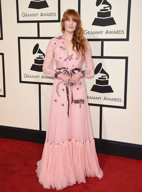Florence Welch at the Grammy Awards 2016