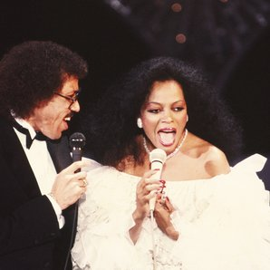 Lionel Ritchie and Diana Ross