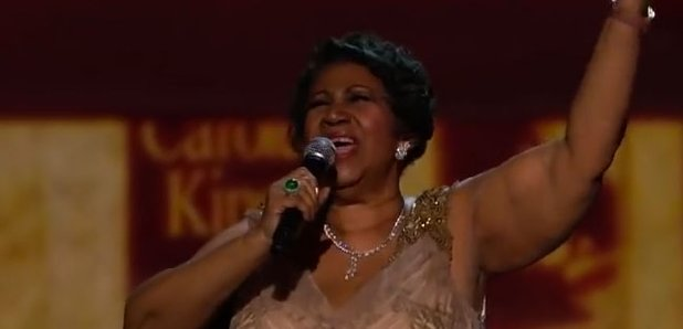 Aretha Franklin Honours Carole King