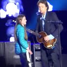 Paul McCartney on stage Argentina