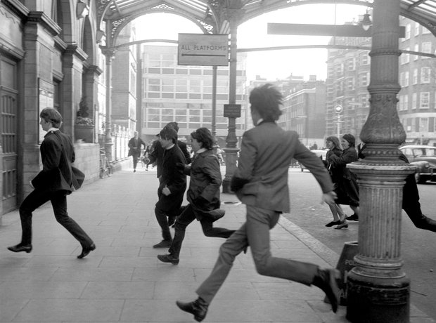 The Beatles Hard Days Night filming