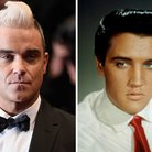 Elvis and Robbie Williams