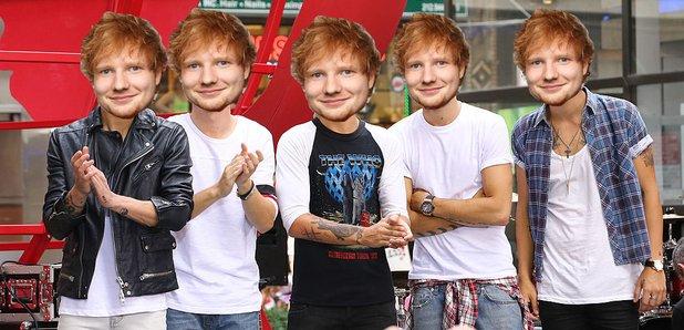 Ed Sheeran as a boyband